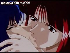 Hentai Two Girls On Guy