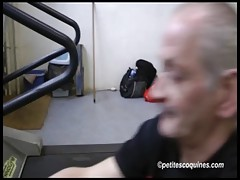 Louana fucked with her Fitness coach