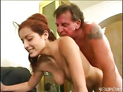 old step dad seduced young da ...