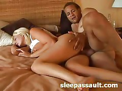 Pretty Blonde Babe Is Getting Her Cunt Massaged With Copper Stick