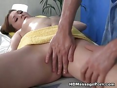 Simple massage turned out to hardcore fucking