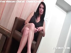 French MILF bitch Cristale make a casting to have her 1st porn experience!Sexy!! free Part1