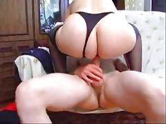 Russian Mature offering her cunt for a young guy