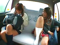 Taxi Double Creampie