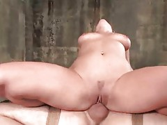 Dominatrix Harmony Rose bounces her pussy on a big cock