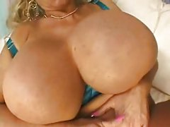 Gigantic Balloons Mom Gets Spunk