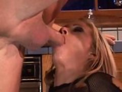 Sex mad Hillary Scott gets throated and fucked hard