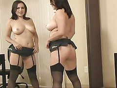 Passionate Pussy Playing From Luscious Babe In Sexy Black Underwear