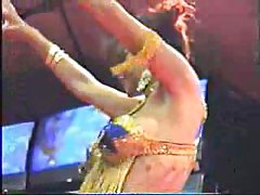 Belly Dancer Striptease