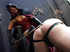 Stunning Dominatrix Spanking And fisting