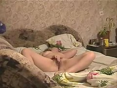 See great cum of my mom on bed. Hidden cam