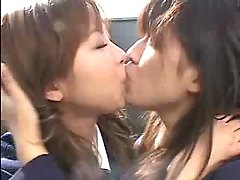 Asian Girls Kissing 5