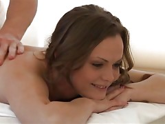 Sweet massage ends in a fuck