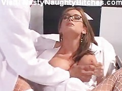 Nurse Torry Lane taking up her ass