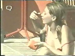 Fayna Bethencourt in topless in Big Brother Spain 2