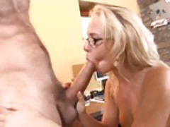 Carla Cox is a sex starved secretary
