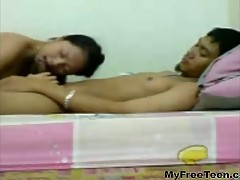 Cute Indonesian Teen Fuck With Her Bf And Swallows His Cum