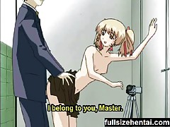 Hentai blonde tart banged