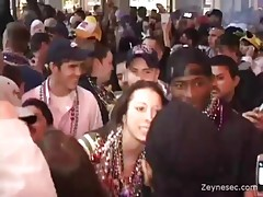 Girls At Mardi Gras Will Do Anything For Beads Video,  Party  Public Flashing