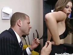 Teen Missy Stone gets Punished by her Boss