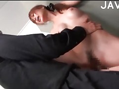 Japanese girl fucked in a toilet